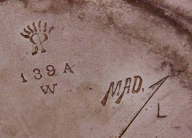 Rookwood Pottery Marks with size code and artist signature or cypher