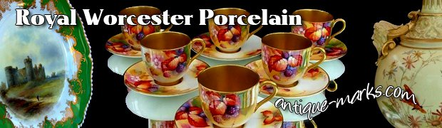 Collectible Royal Worcester Porcelain