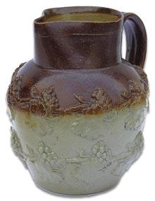 salt glaze stoneware jug