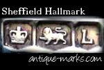 イギリス(英国)のシルバーアセイオフィスマーク 表の顔 ホールマーク