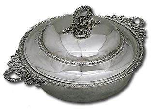 antique marks -  french silver ecuelle