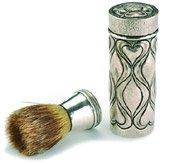 omar ramsden silver shaving set