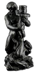 Wedgwood Black Basalt Figure