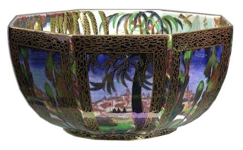 Wedgwood daisy makeig jones fairyland lustre bowl