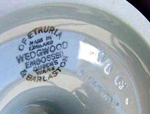 Wedgwood Queens Ware mark