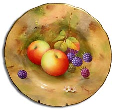 Royal Worcester fruit painted by albert shuck