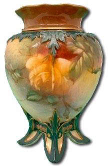 Worcester Hadley Floral Vase