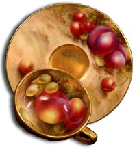 Royal Worcester fruit painted by edward townsend