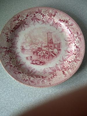 Full View of Wedgwood Plate
