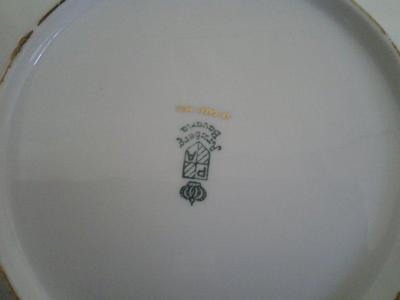 Arzberg Bavaria marks on Porcelain Tea Set