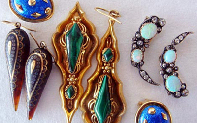Antique Jewelry at Brenda Ginsberg Art & Antiques