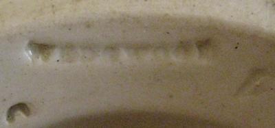 Wedgwood Candlestick Marks