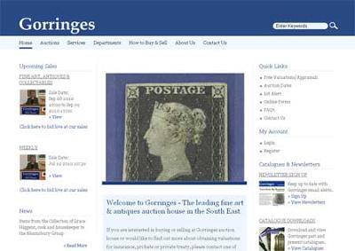 Gorringes Auction House Online
