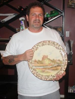 size of Royal Doulton Platter