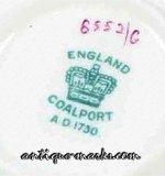 Coalport Marks - Crown Mark c1891