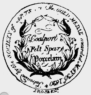 Coalport Marks - Coalport Society of Arts Mark