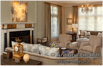Antique Furniture styles - English Georgian Revival Style