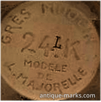 Louis Majorelle Makers Mark