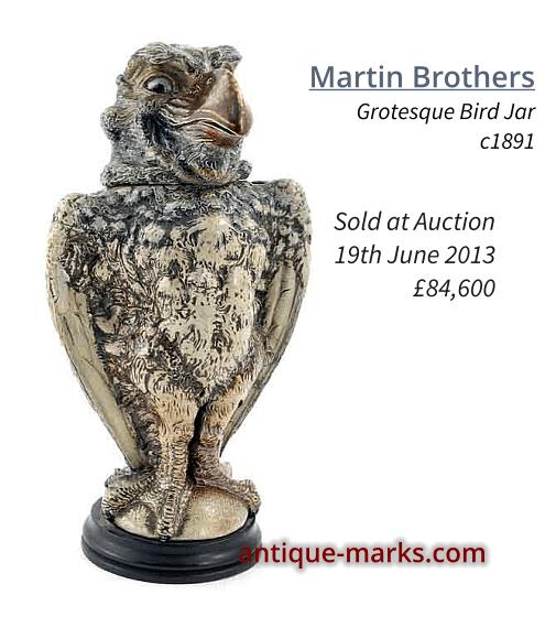 16.5 inch Martin Brothers Gothic Bird