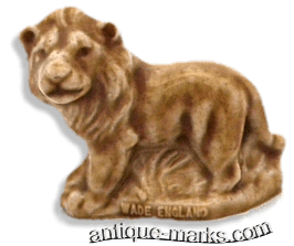 Wade Whimsie Lion figure from the 1990s Cat Collection