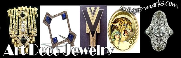 Genuine of Fake Art Deco Jewelry