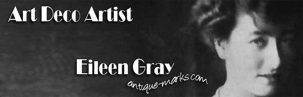 Art Deco Artist Eileen Gray (1878-1976)