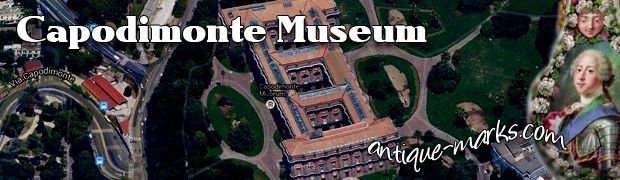 Capodimonte museum in Naples Italy